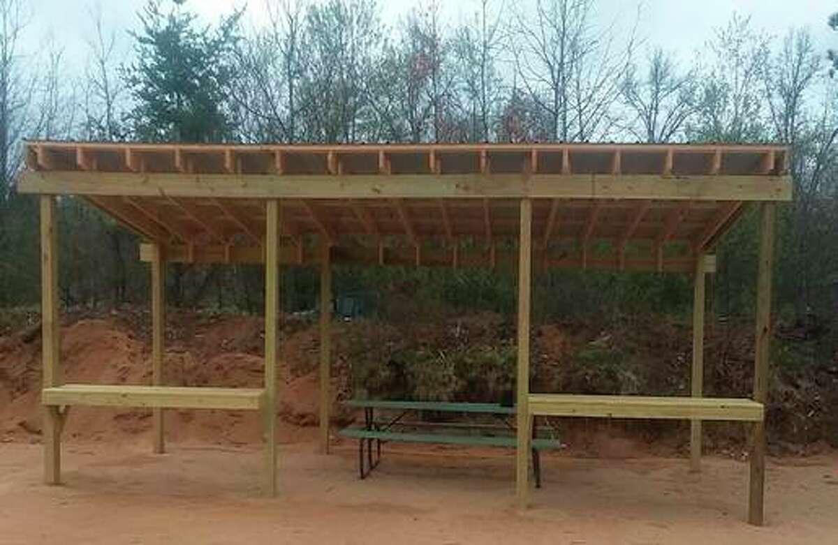 The Lake County Sportsman Club has anew pistol range pavilion. (Courtesy photo)