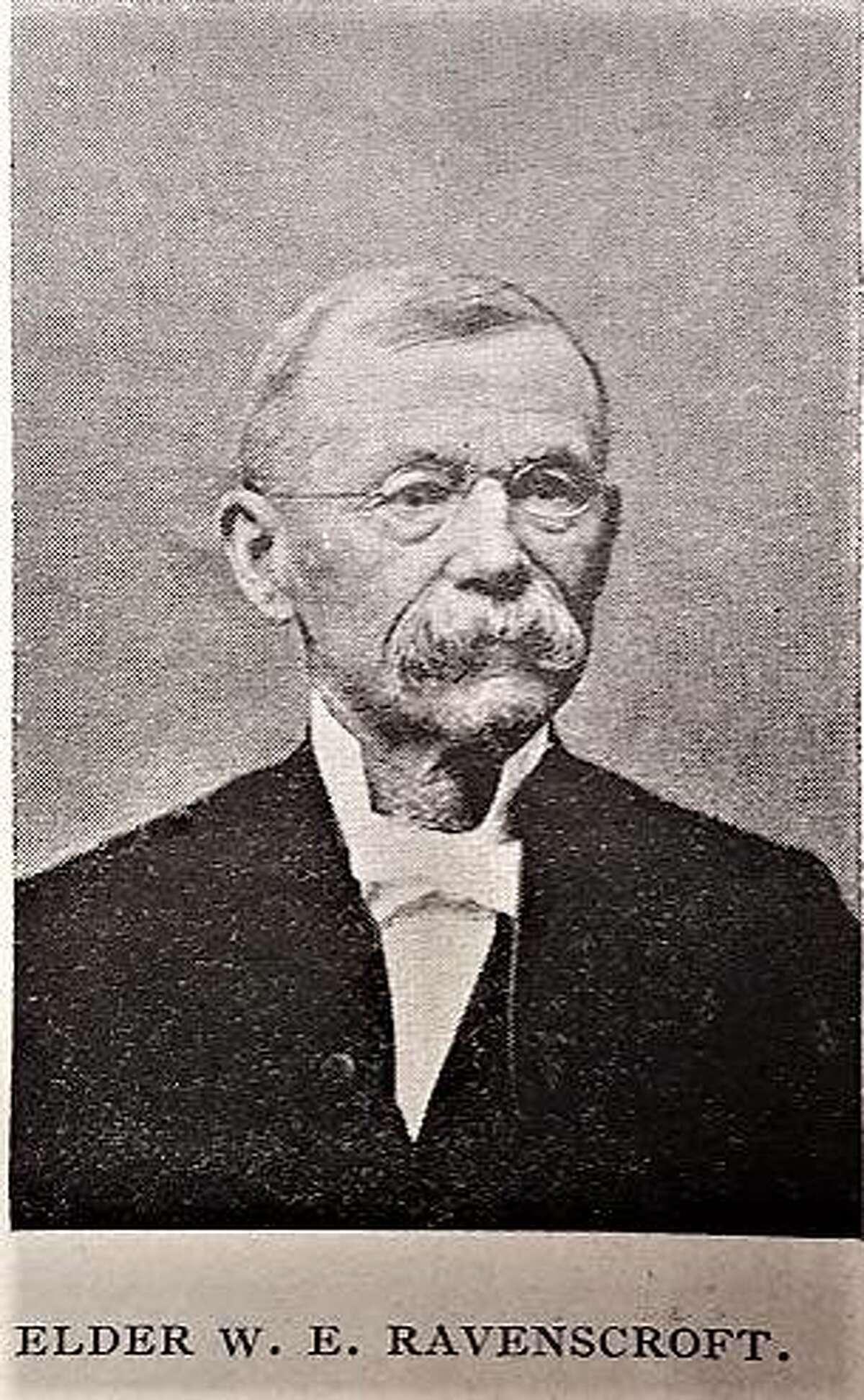 An 1895 Edwardsville Intelligencer file photo pictures Rev. William Ravenscroft.