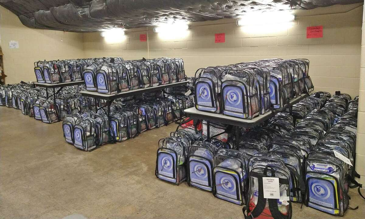 Cy-Fair ISD's Families in Transition program carried out a new initiative this spring called Backpacks of Love. Retired counselors and FIT team members worked the week of April 12, 2021, to fill over 600 backpacks with supplies.