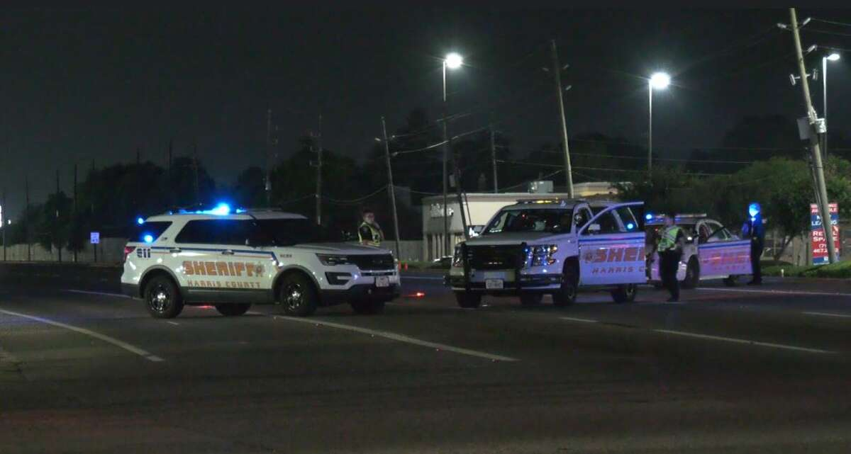 File photo shows Harris County Sheriff's Office deputies responding to an accident scene.