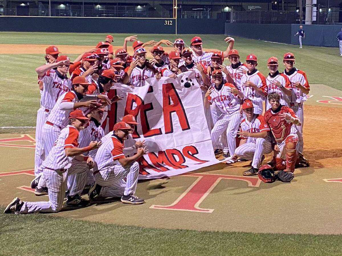 The Katy baseball team remained undefeated in the postseason with a 4-1, 10-0 sweep of Cypress Ridge in the Region III-6A area playoffs. The Tigers face Jersey Village in the regional quarterfinals.