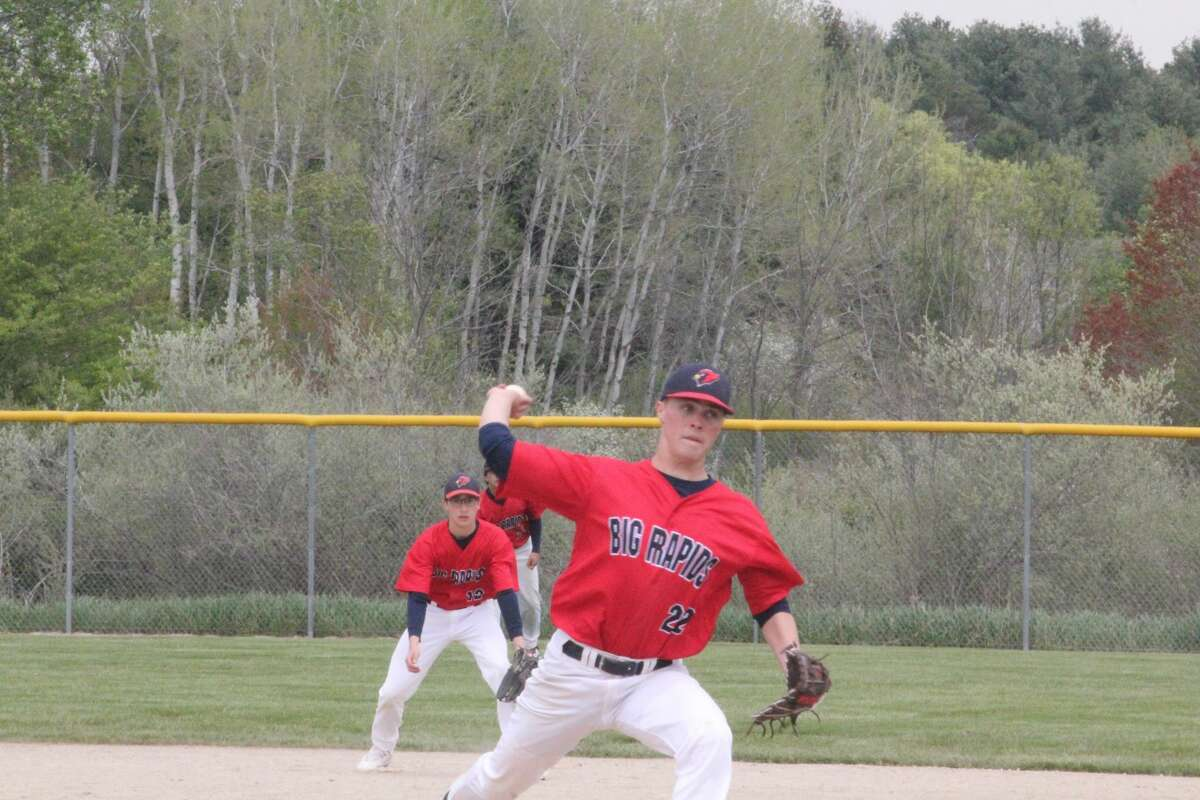 Big Rapids defeated Traverse City West 12-8 in the second game of a home doubleheader on Saturday.