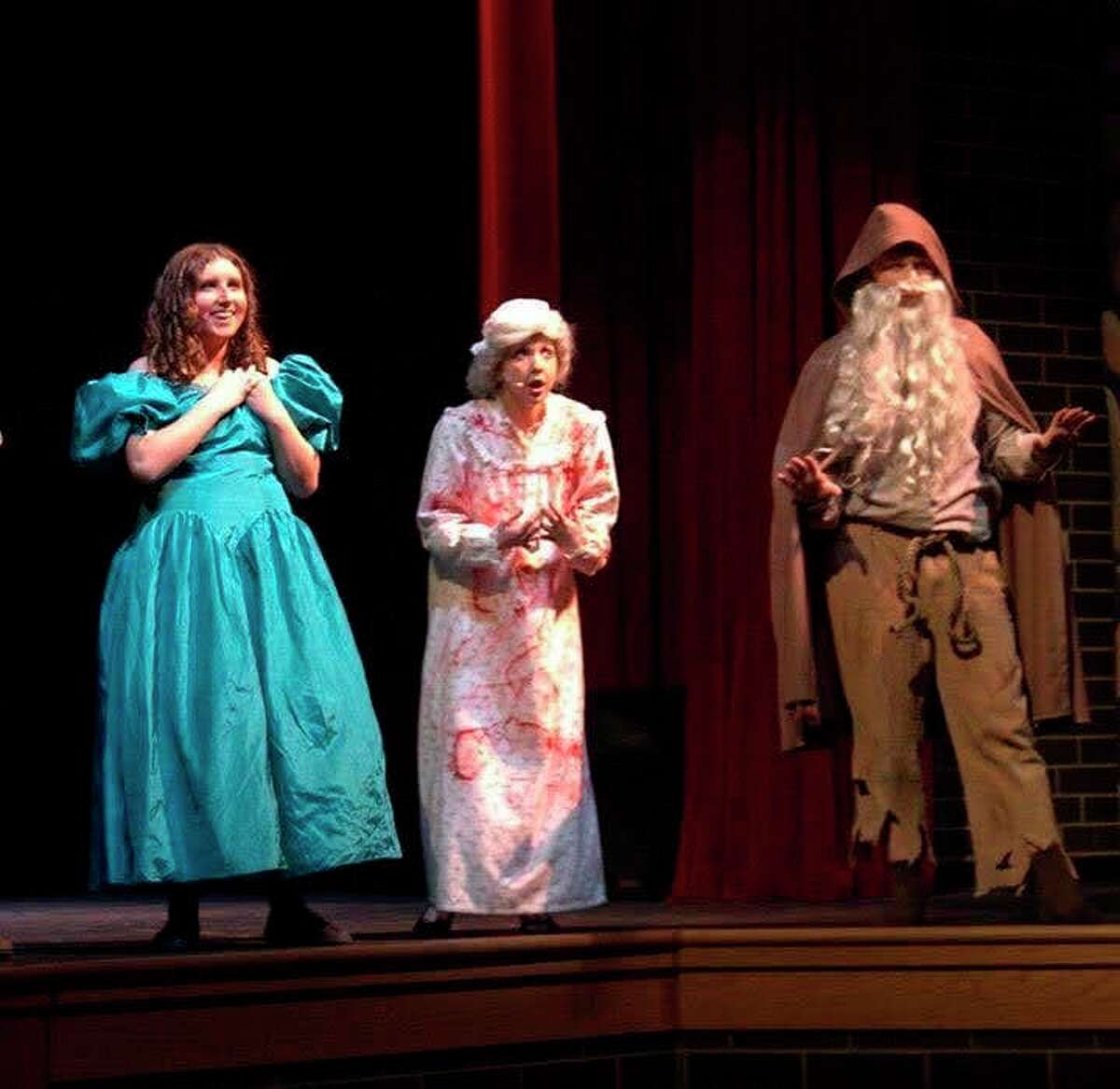 Annika Lipar (far left) performs in the STAGE-M production of