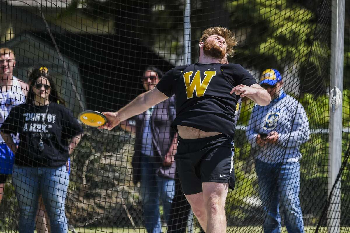 Bay City Western's Justin Doty competes in the first annual