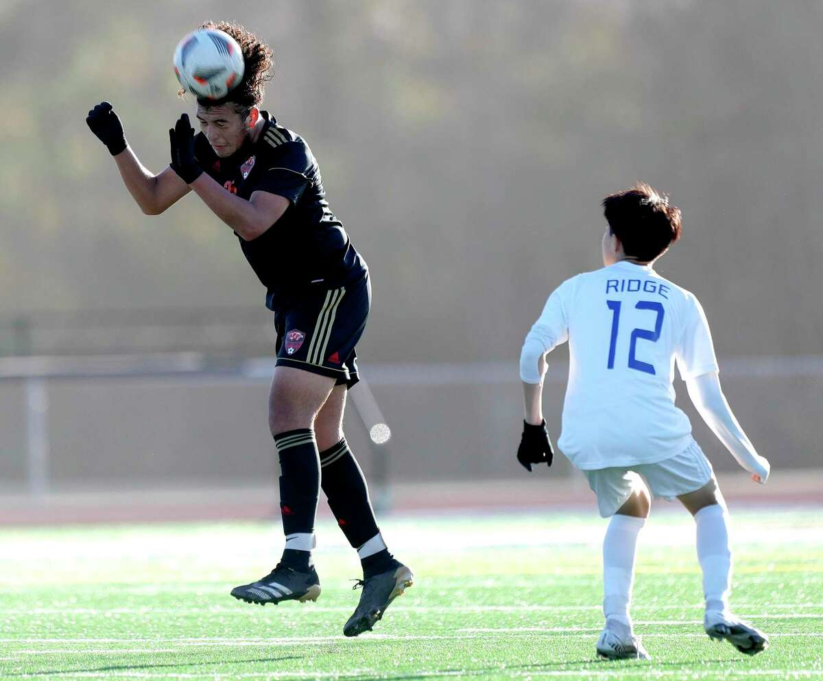 Caney Creek's Ariel Palacios (25) was named the District 20-5A Defensive MVP.