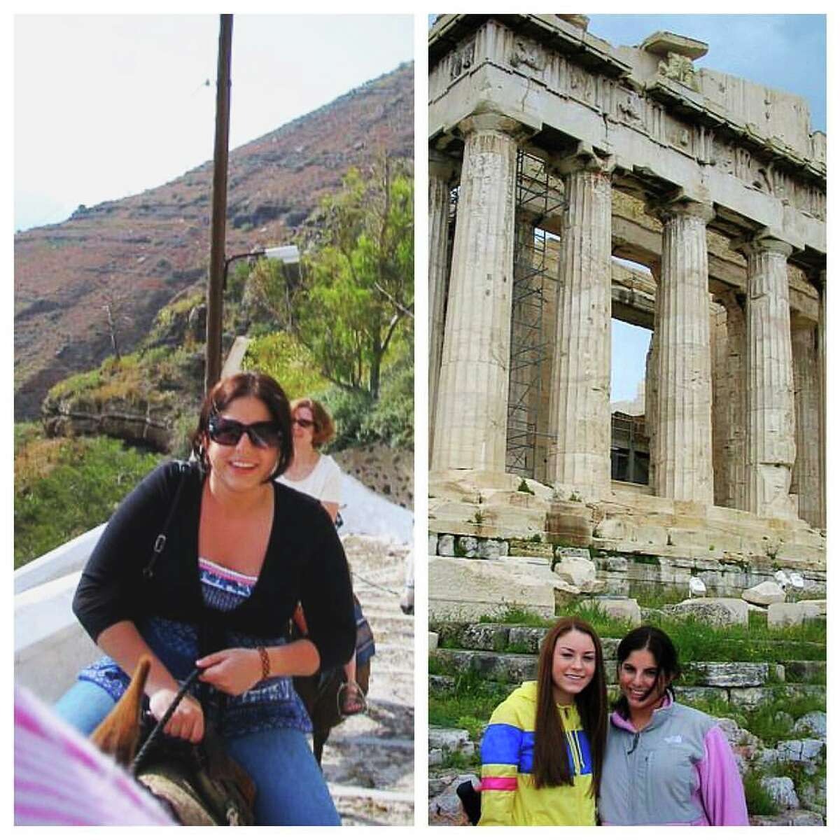 2. My first flight ever was an eight-hour overnight trek my junior year of high school when I went to Greece.