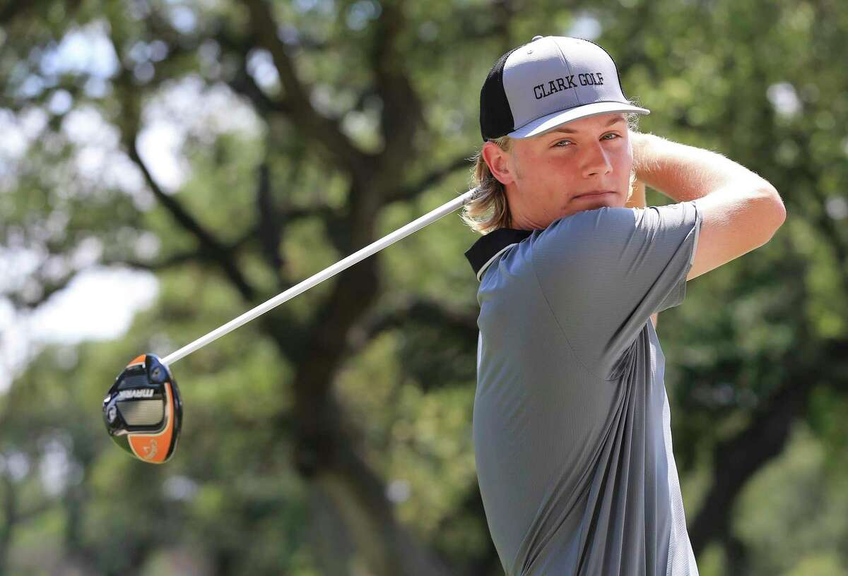 Clark's Garrett Endicott, the Region IV-6A champ, will compete in his second state golf tournament today in Georgetown.