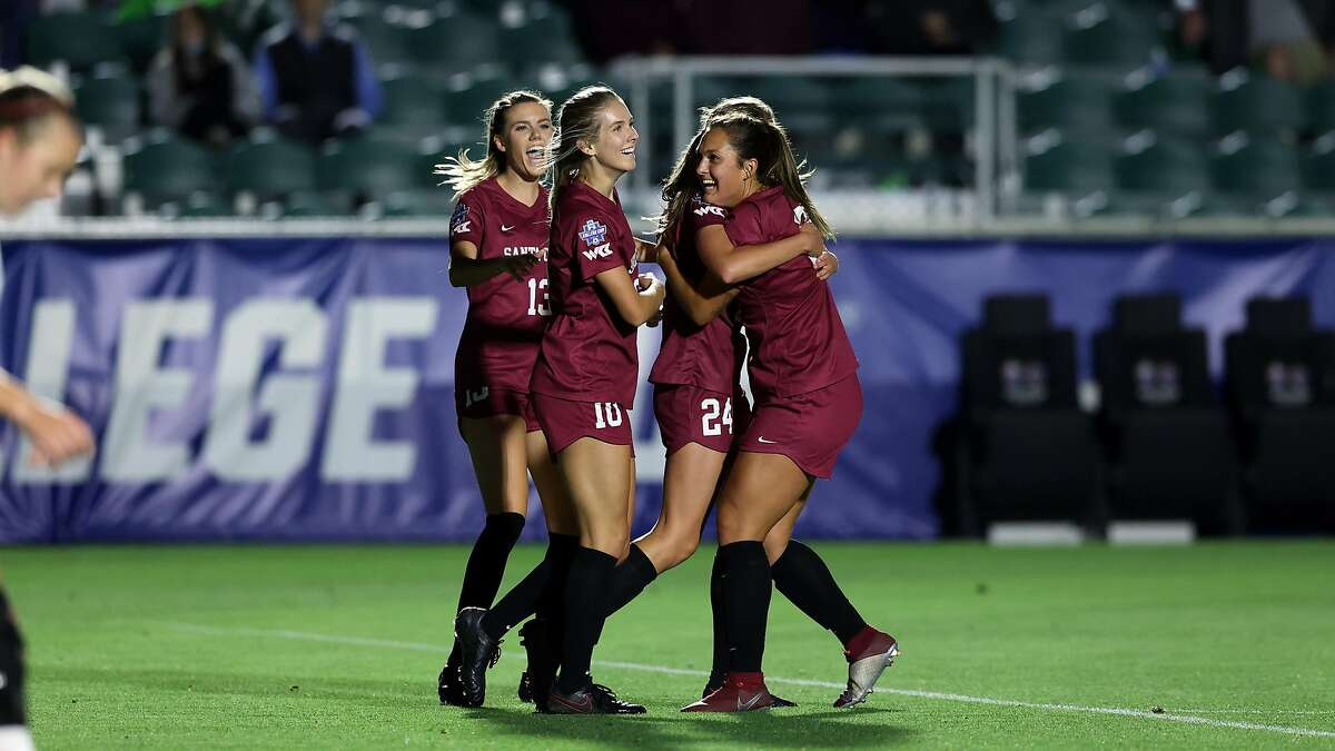 The Santa Clara women's soccer team plays Florida State in the College Cup final at 2:30 p.m. Monday (ESPN2).