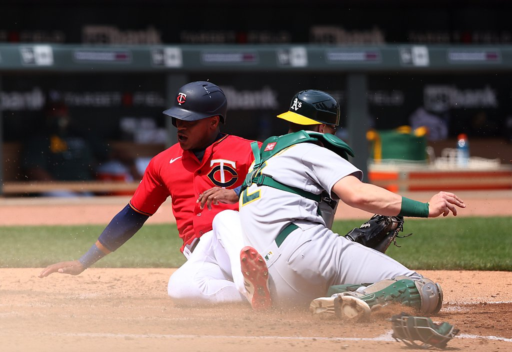 A's win wild series finale against Twins, continue success on the road
