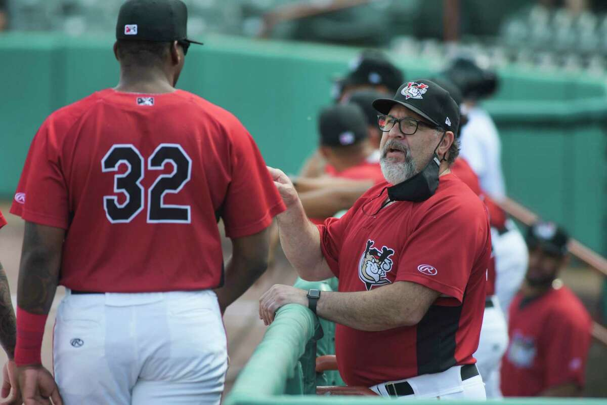 Tri-City ValleyCats manager Pete Incaviglia, right, says his team is glad to be home after a tough opening road trip.