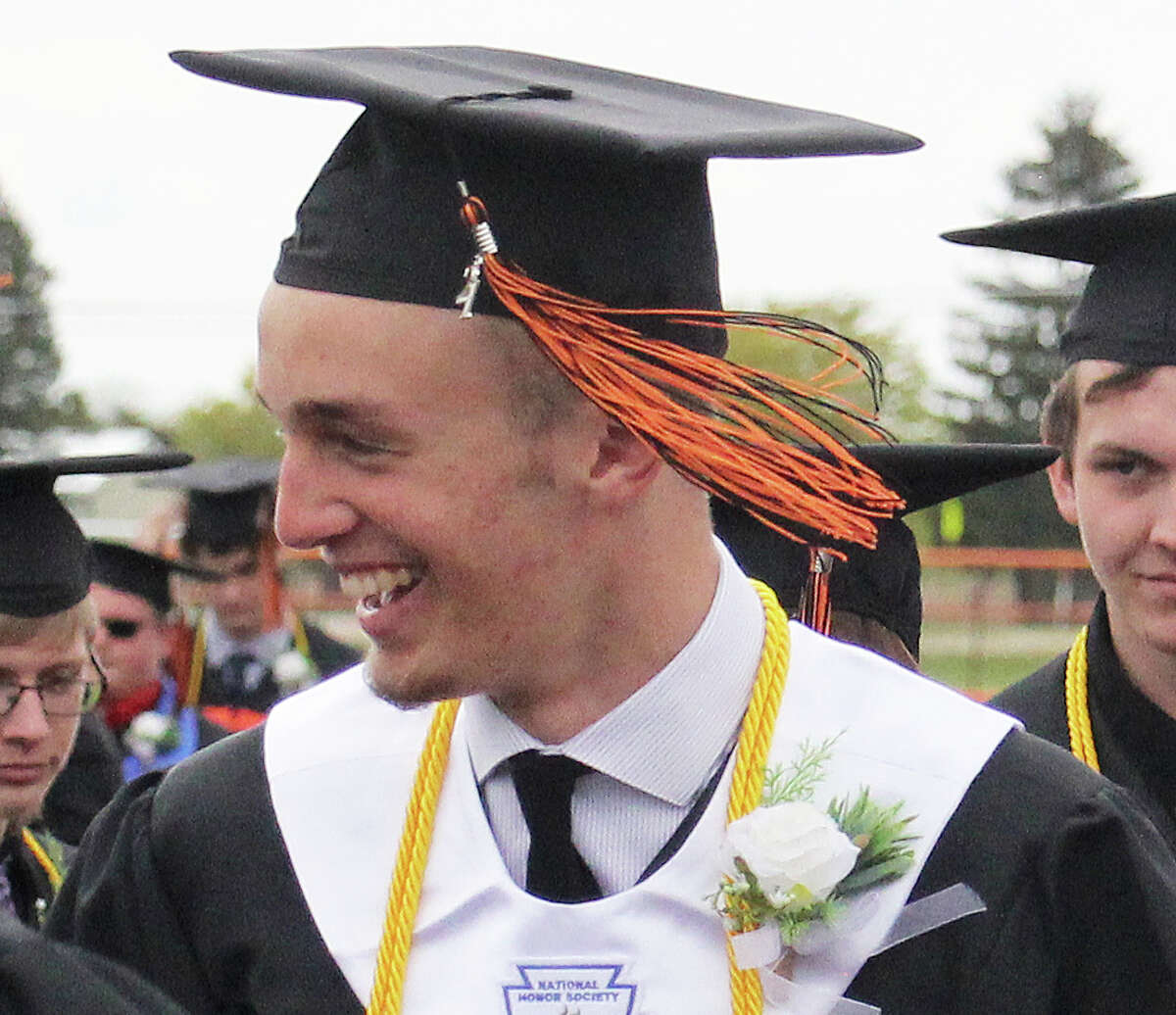 Harbor Beach High School held commencement ceremonies for the Class of 2021 on Sunday afternoon.