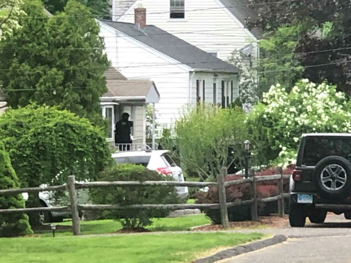 Officials on the scene at Chatham Drive on Sunday, May 16.