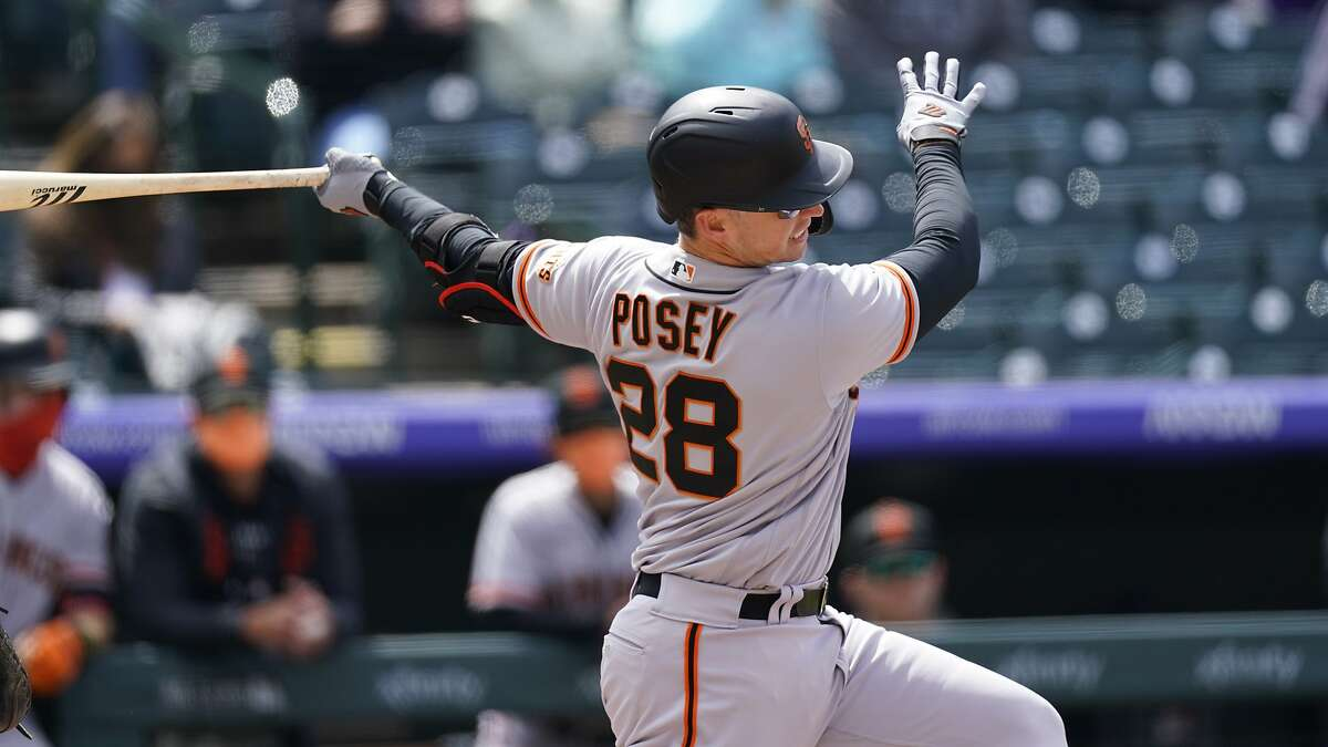 The Giants' plan to rest Buster Posey has so far worked out beautifully as Posey is hitting .382 at the quarter-mark of the season.
