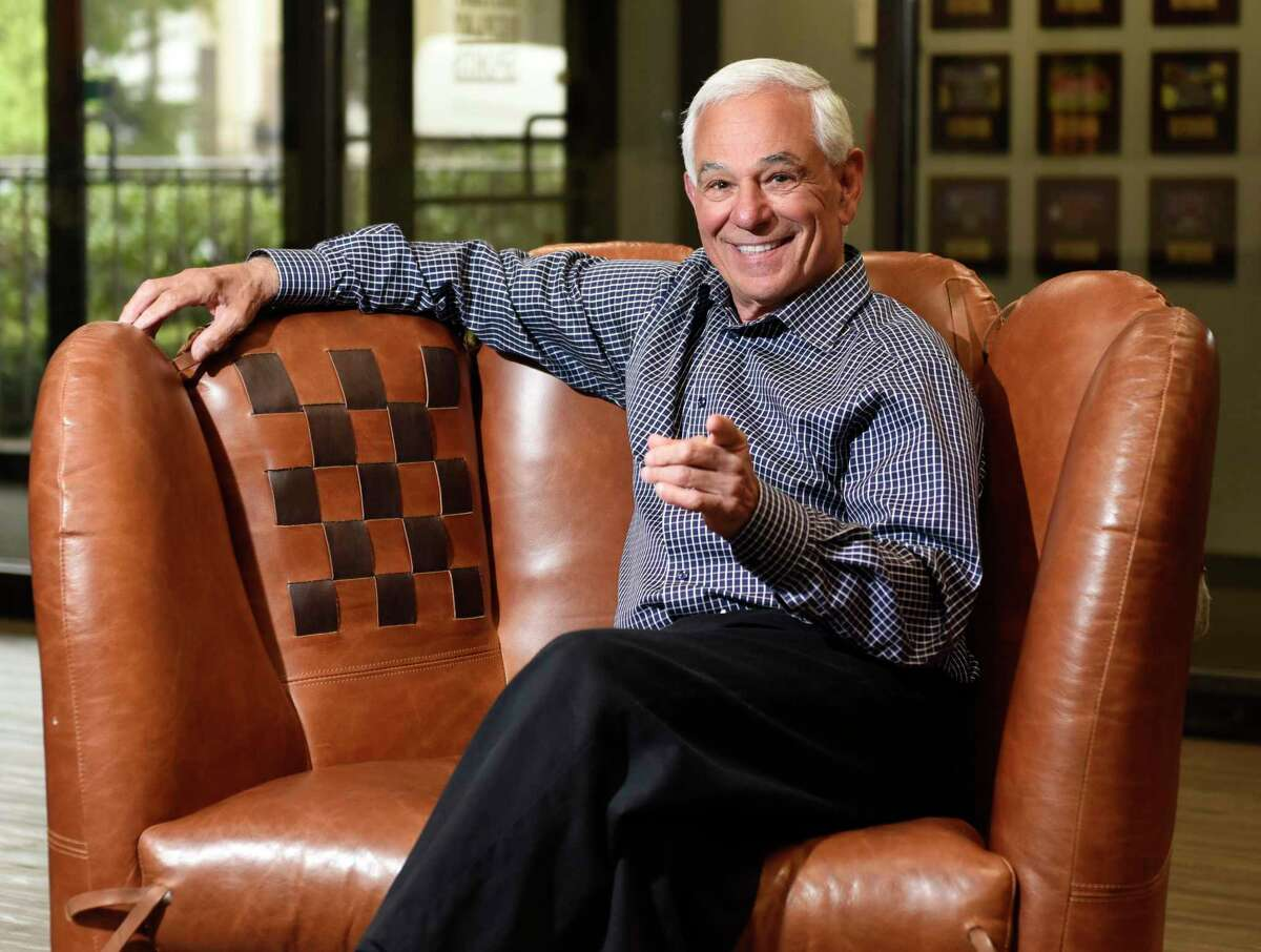Bobby Valentine poses at Bobby Valentine's Sports Academy in Stamford on May 5, 2021. The renowned baseball player and manager announced that he is running for mayor of Stamford as an unaffiliated candidate.