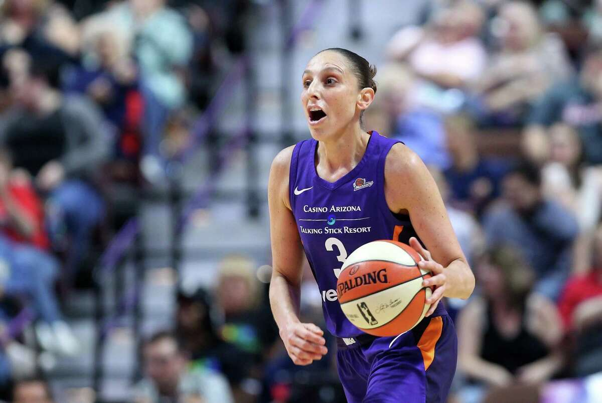 Former UConn star Diana Taurasi is in her 17th year in the WNBA.