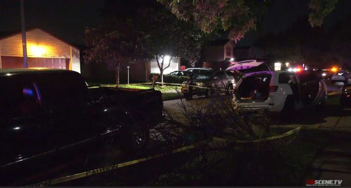 Shooters fled after opening fire into a car with three children inside on Zarroll Street Sunday, May 16, 2021.