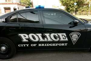 A body was found at Bassick High School in Bridgeport, Conn., on the back stairwell on Sunday, May 16, 2021.