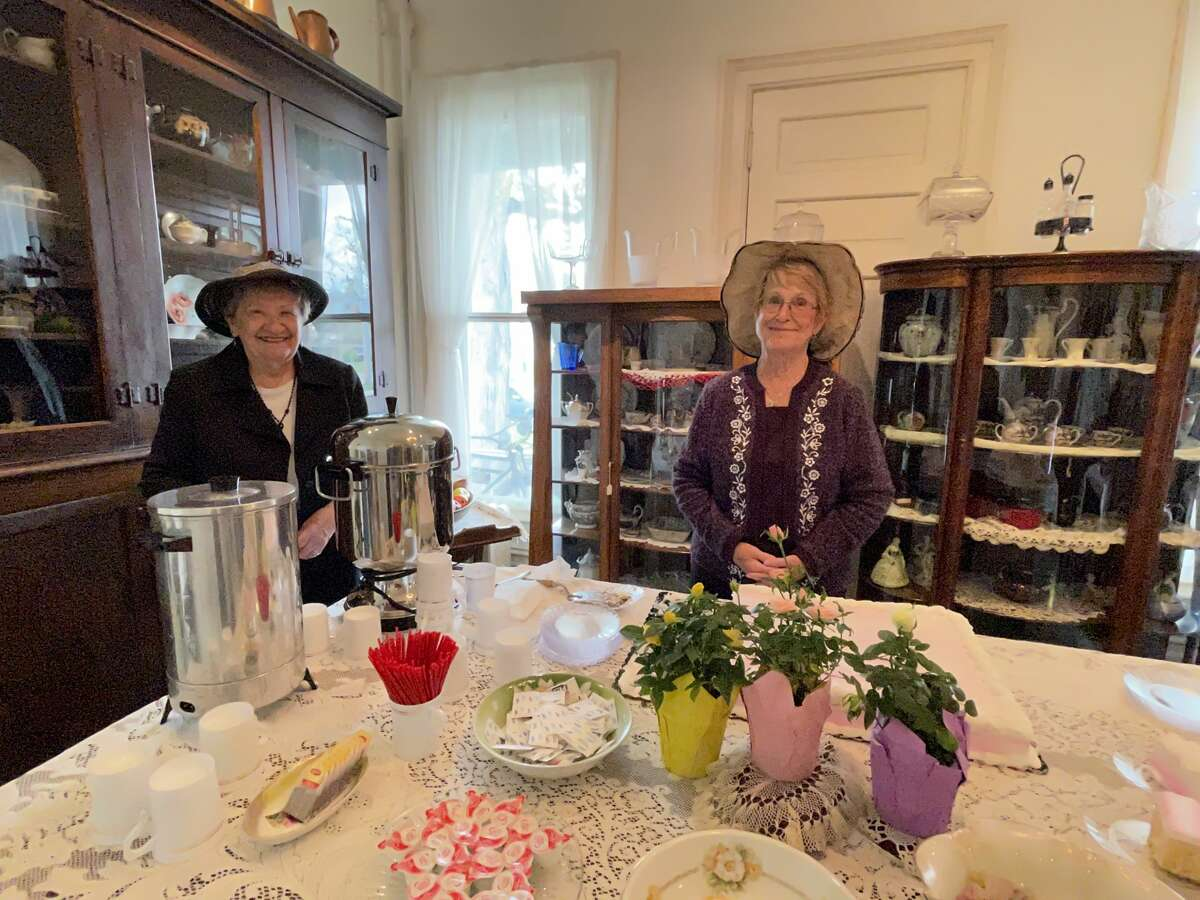 The Mecosta County Historical Museum was busy Sunday afternoon as many visited the museum for its annual Victorian Tea event.