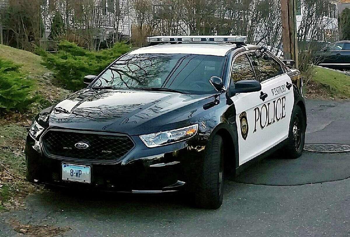 A file photo of a Westport, Conn., police cruiser.