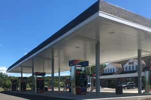 Spectrum/A travel plaza that recently opened at the corner of Still River Drive and Route 7 in New Milford is anchored by a Sunoco gas station. A Sonic will open Aug. 29, 2020, and a 7-Eleven and Tesla charging station will also soon open.