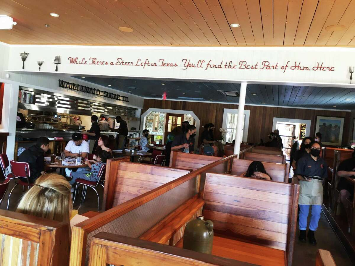 The newly renovated Mama's Cafe has a Willie Nelson mural, outdoor beer garden area and plenty of seating.