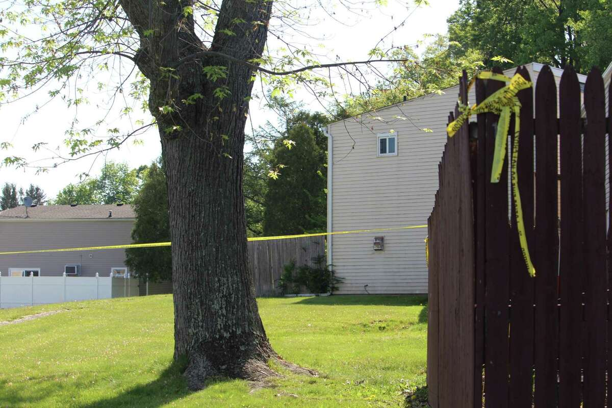 Authorities say a former Middletown High School student was shot and killed Sunday morning in a large apartment complex near Highlands Crescent and Stirling Court. A 17-year-old current student was wounded, according to police.