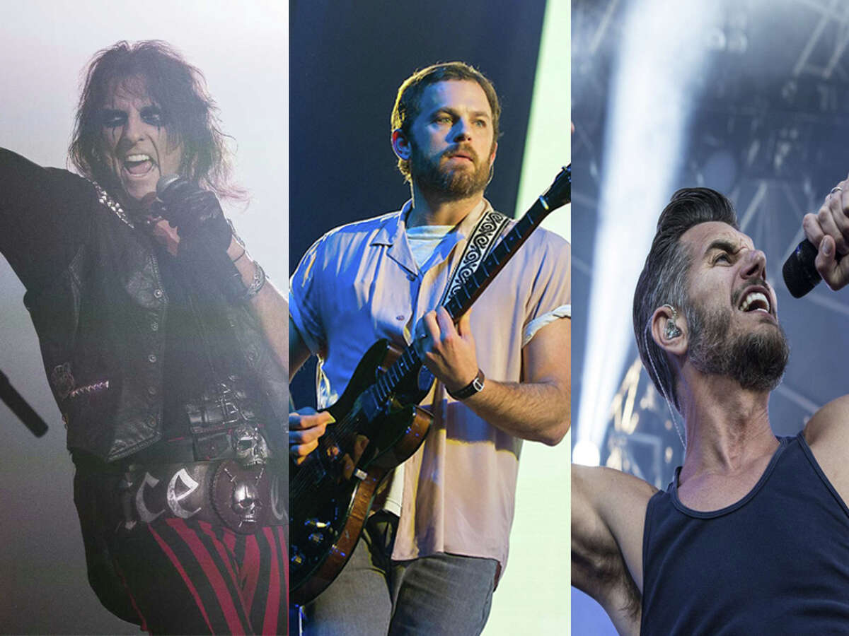 Alice Cooper, Kings of Leon and 311 will perform at the Hartford Healthcare Amphitheater in Bridgeport this summer.