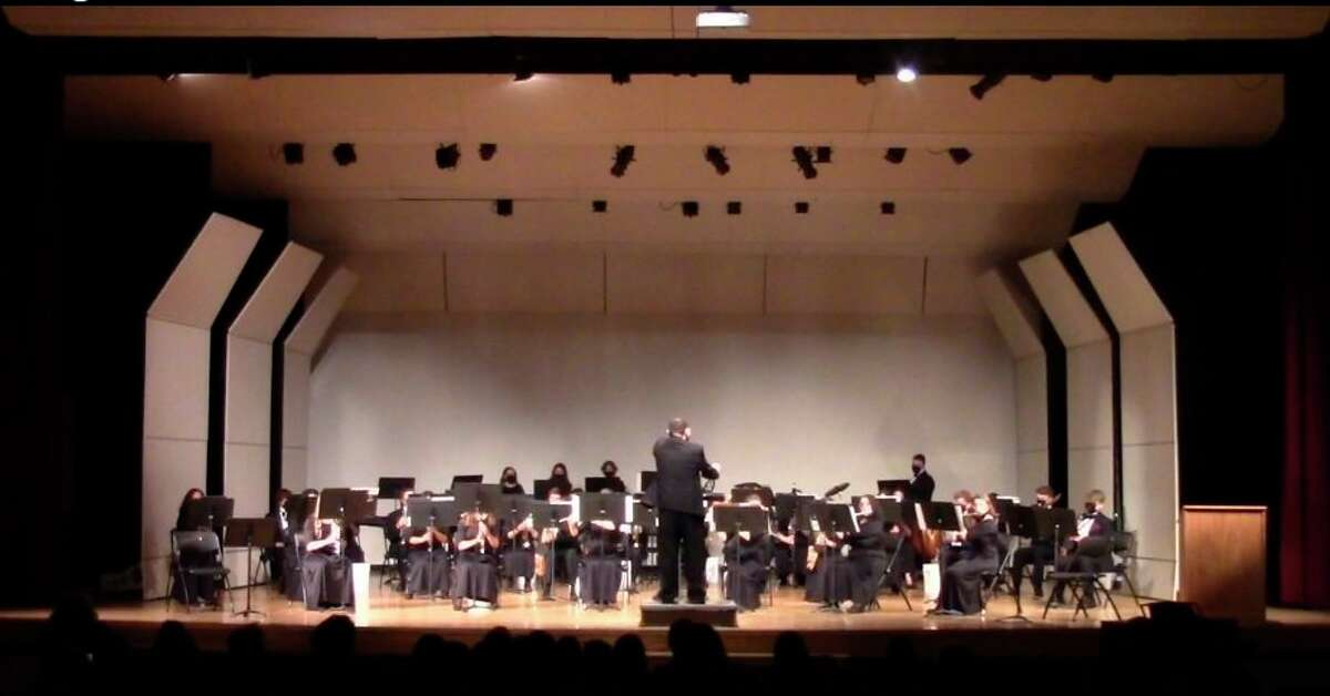 They Benzie Central Symphonic Band performed in front of a live audience at the Spring Band Concert. (Courtesy Photo)