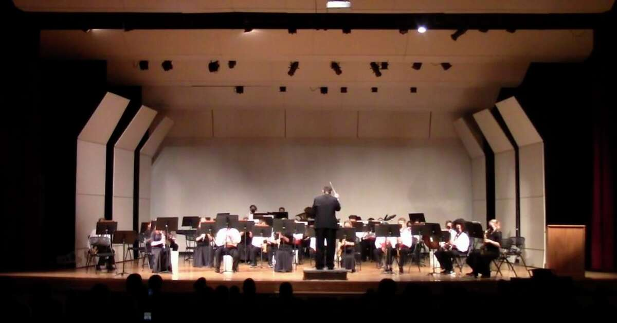 The seventh and eighth grade band performed during the Spring Band Concert held at the auditorium at Benzie Central High School. (Courtesy Photo)