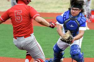 Cigarroa catcher Julian Flores was named to the All-District 30-5A first team.