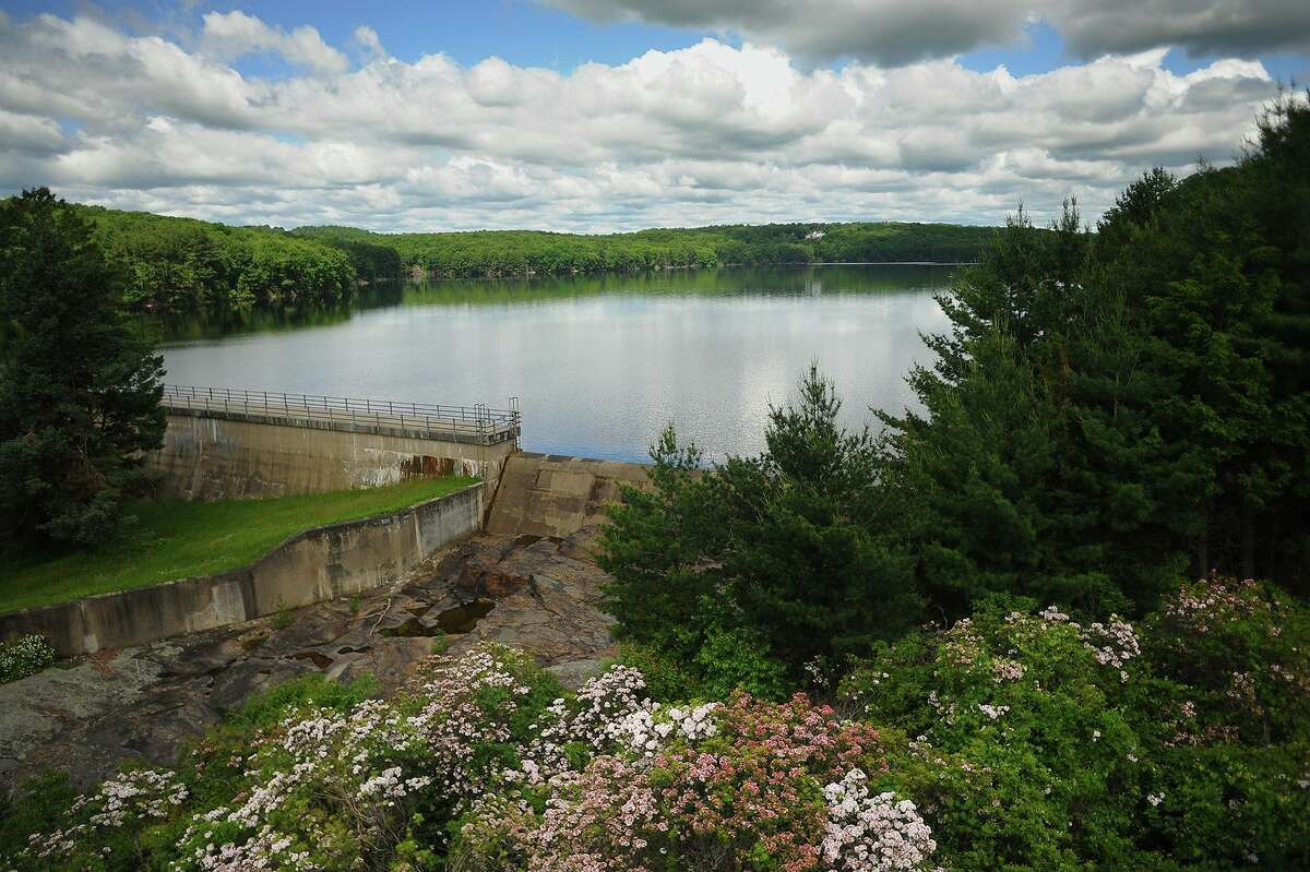 The Easton Lake 488 acre reservoir in Easton.