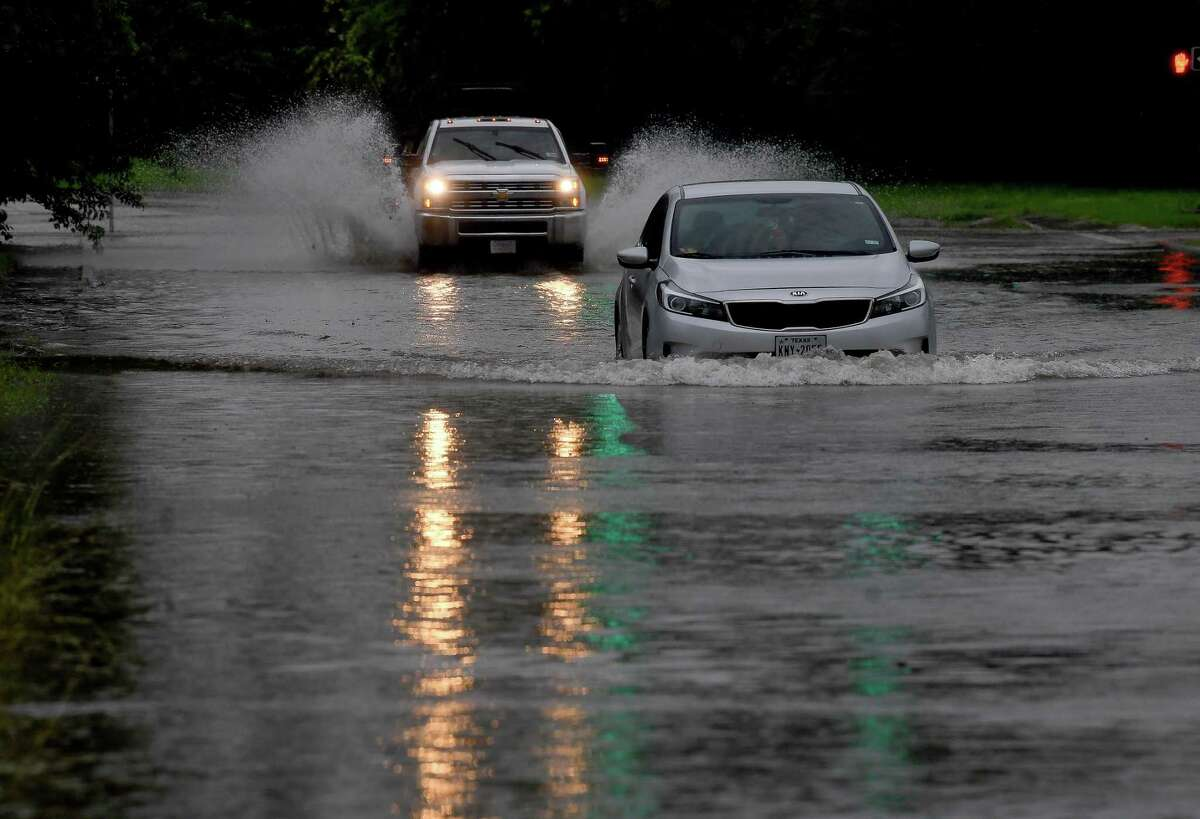 The National Weather Service has issued a flash flood watch for San Antonio from 7 p.m. Monday to 1 p.m. Thursday.