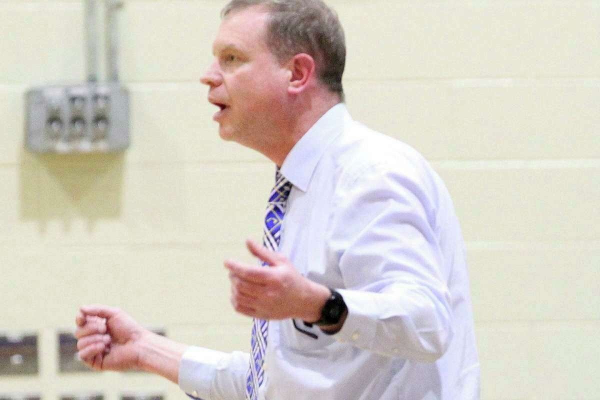 Kurt Dennis, the Bad Axe High School principal and girls basketball coach, is one of five candidates interviewing for the superintendent position for Caro Schools. (Tribune File Photo)