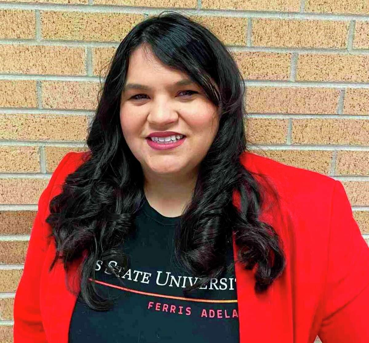 Center for Latin@ Studies Executive Director Kaylee Moreno Burke was the choice of the Ferris Women's Network to receive the 2021 Helen Gillespie Ferris Distinguished Women Leader Award. (Courtesy photo)