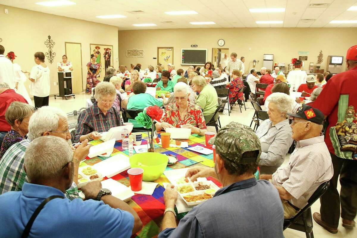 Senior adults attend an activity at Pearland's Knapp Activity Center in 2017. The center is targeted to receive nearly $245,000 in federal money through the city for for land acquisition and upgrades.