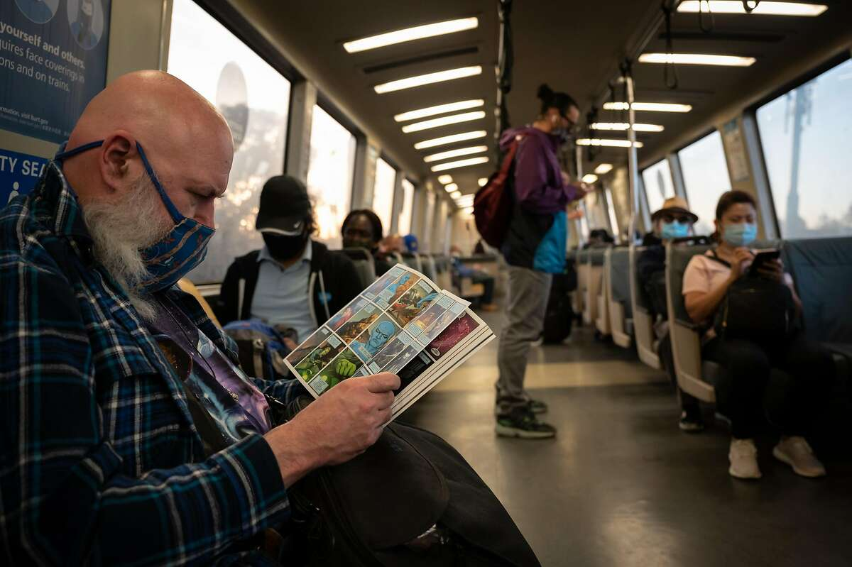 BART ridership is still well below pre-pandemic levels.