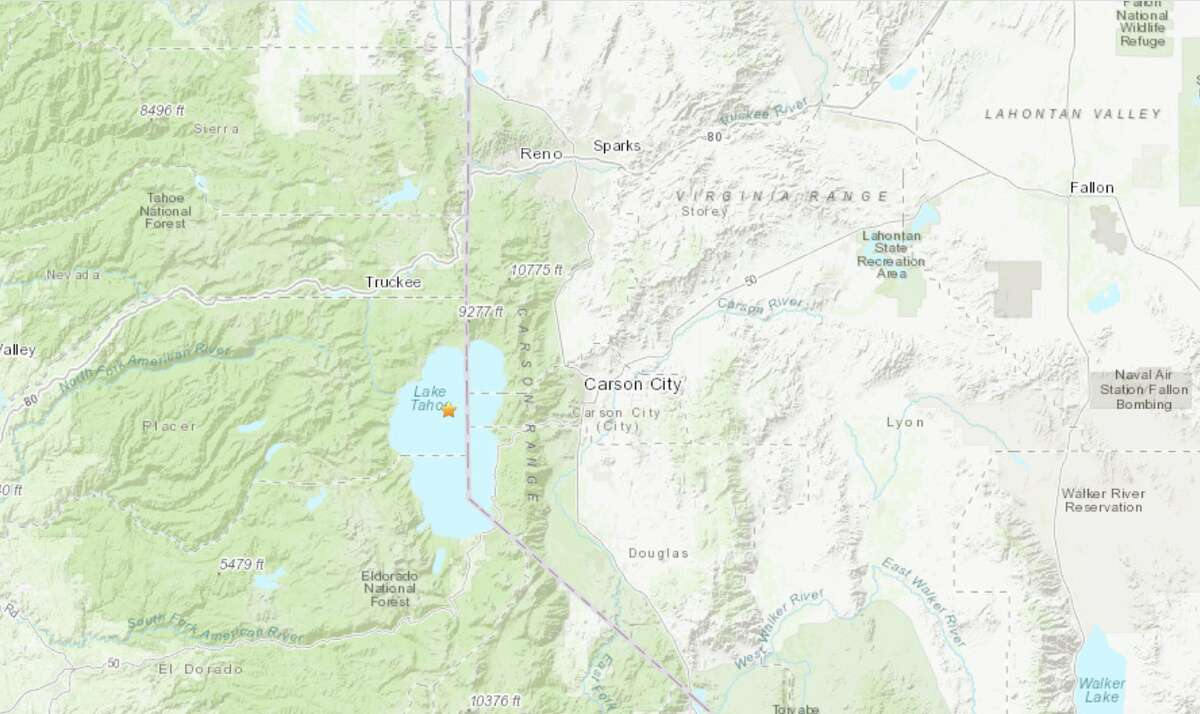A 3.6 magnitude earthquake gave the Lake Tahoe area a shake on Monday.