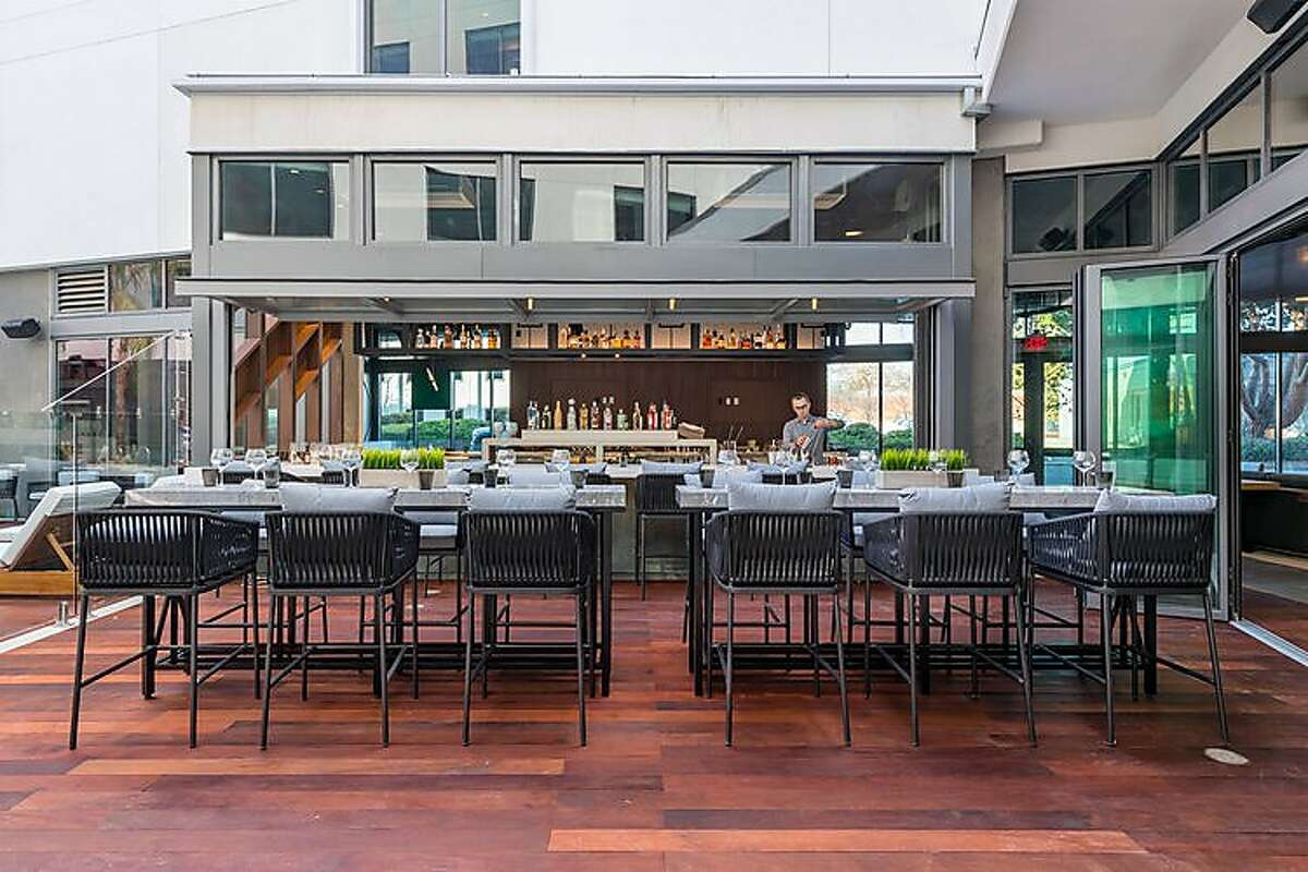 The Emerald Hour, a new cocktail bar inside the Hotel And in Mountain View.