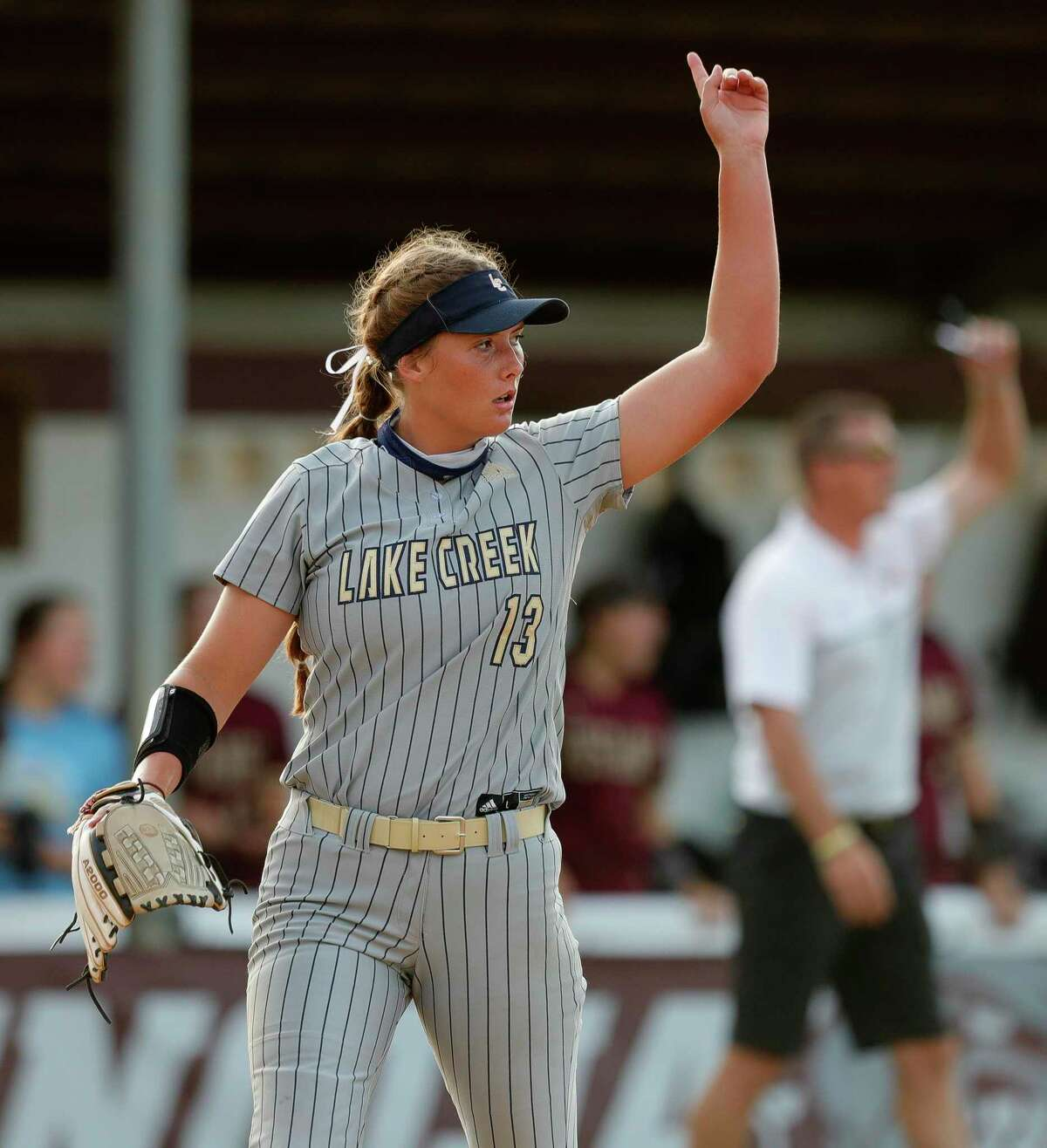 Lake Creek senior Emiley Kennedy is The Courier's Player of the Year. Kennedy, a pitcher, is signed with Texas A&M.