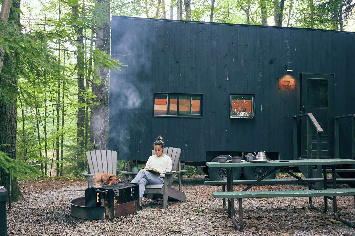 The former Middlesex 4H Camp in the Moodus section of East Haddam is being developed by Getaway House, which offers visitors a chance to escape their everyday lives in a natural setting.