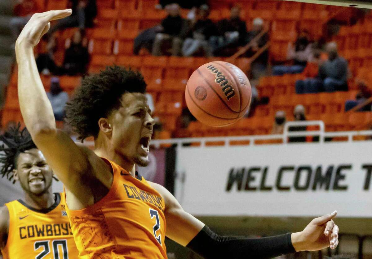 Oklahoma State guard Cade Cunningham is projected by many to be the NBA draft's top pick, which the Rockets have a 14 percent chance of landing.
