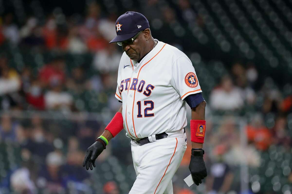 Dusty Baker and the Astros open a series in Oakland at 6:30 p.m. Tuesday (NBCSCA/960).