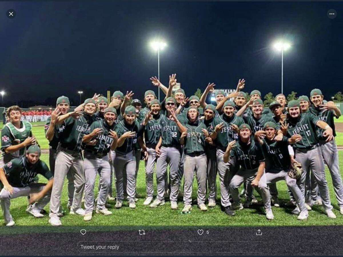 The Strake Jesuit baseball team won its second area championship since joining the UIL, sweeping Atascocita 6-1 and 1-0 to advance to the Region III-6A quarterfinals. The Crusaders will play fellow District 23-6A member Shadow Creek.