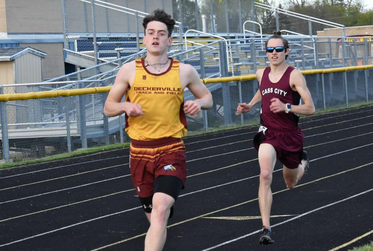 The Cass City girls and boys track teams found themselves in trophy status as the girls team captured first-place honors at the Laker Invitational, and on Friday night, the boys were able to champion the 12-team Hatchet Invitational.