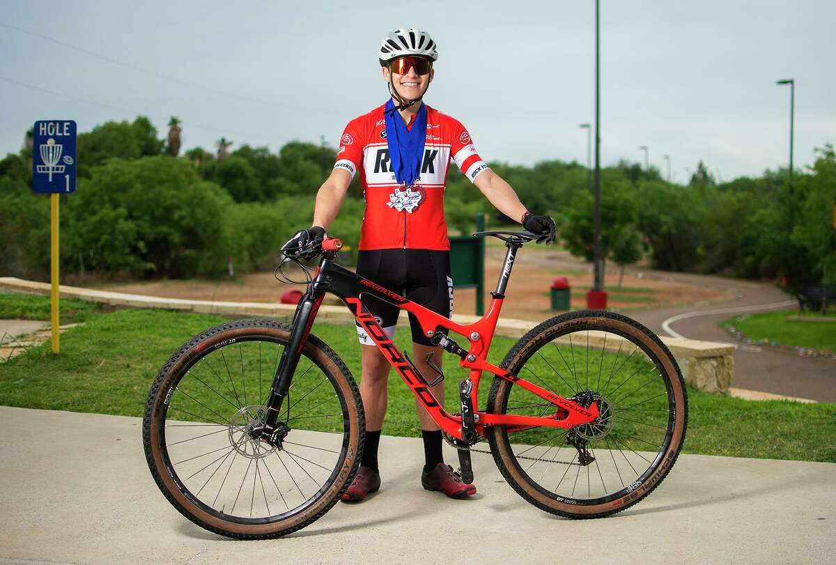 Alexander junior Daniel Musquiz will compete July 13-14 at the USA Cycling Mountain Bike National Championships in Colorado.
