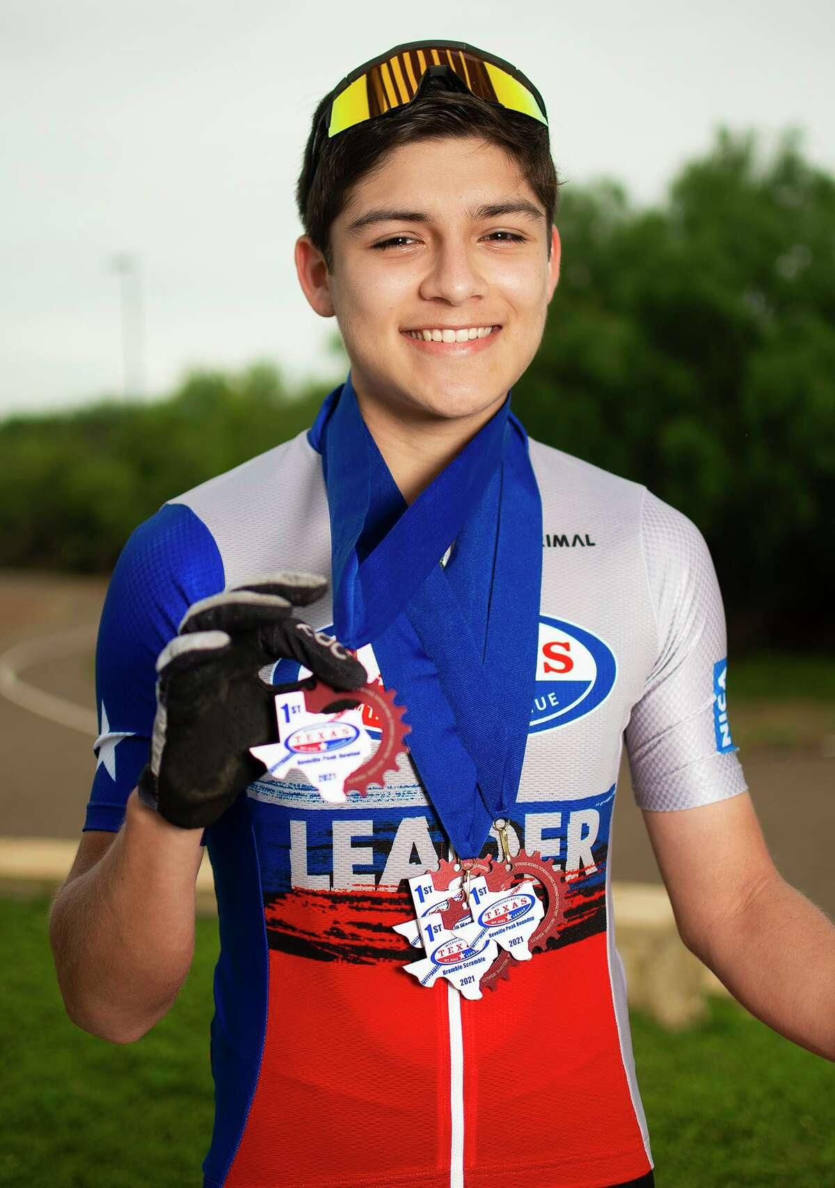 Alexander junior Daniel Musquiz has won four consecutive races this season.