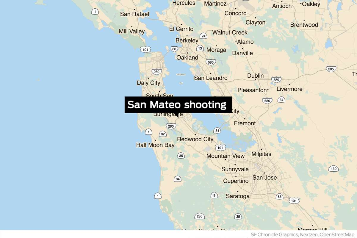 Two 16-year-old boys were arrested Monday on suspicion of killing a man outside the San Mateo Adult School, police said.