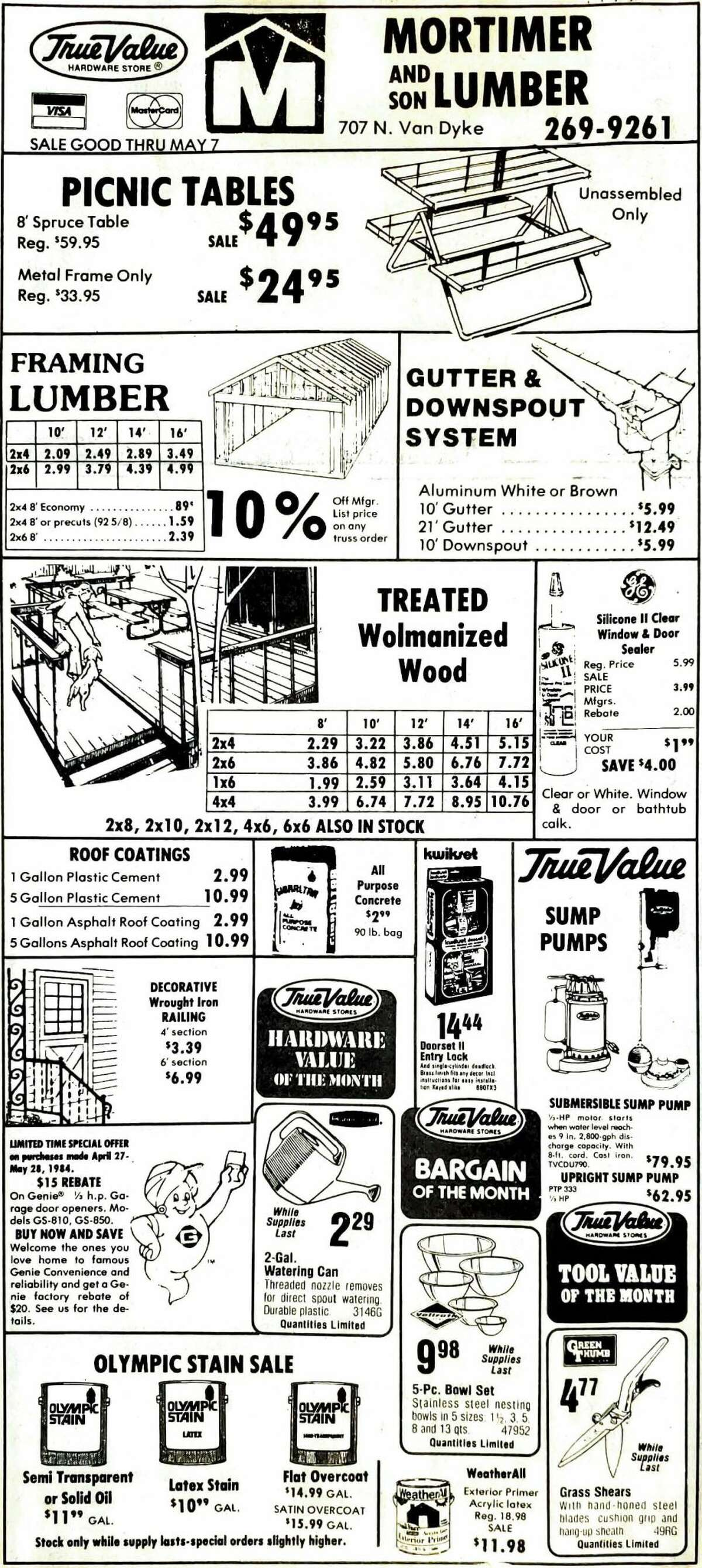 For this week's Tribune Throwback we take a look in the archives from May 1984.