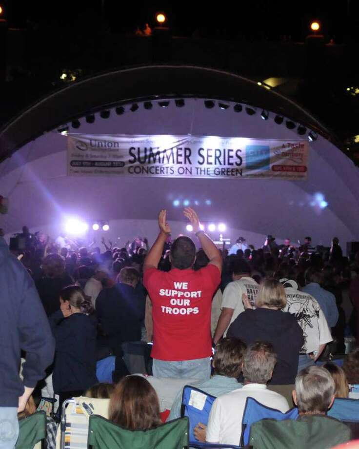 "The Danbury Symphony Orchestra will open Danbury's CityCenter's Summer Concerts on the Green series with a pop music program called ""Heroes & Villains."" The program will evoke then-and-now moments from the fictitious worlds of Superman, James Bond, Star Wars, Halo and Angry Birds. Check out the rest of the linenup.  Photo: Lisa Weir / The News-Times Freelance"