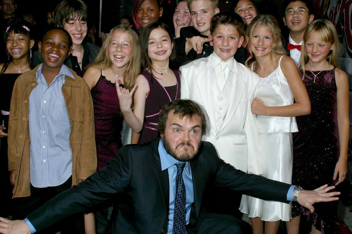 Jack Black attending the premiere of